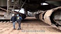 4.5万吨15层楼高的挖掘机,需要27名操作员,可切断任何东西