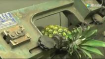 新招的车工,老板拿了个菠萝考验技术,没想到最后把老板吓一跳