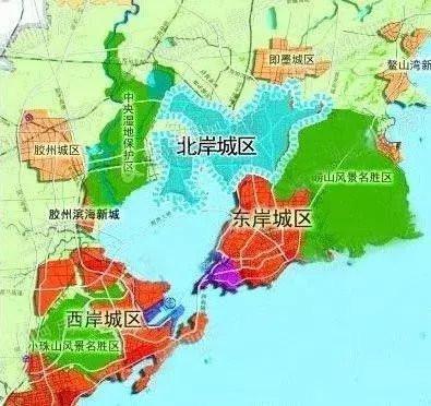 建立红岛经济区,管辖高新区,青岛出口加工区,红岛街道和河套街道,陆地