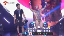 最嘚瑟的日本拳王遭最精彩秒杀KO 千万不要眨眼 太快了