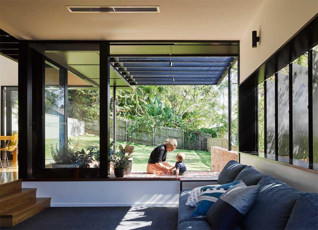 澳大利亚红砖别墅现代风格设计