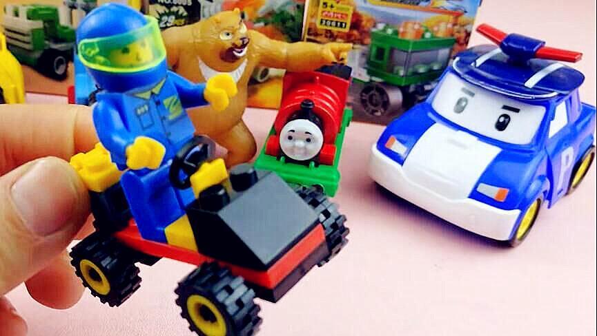 lego乐高积木系列之马戏团动物乐园玩具及托马斯小火车