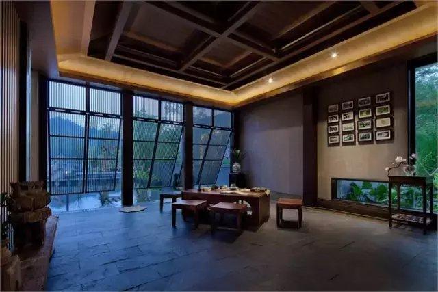 新中式 | 邱春瑞, 中信紫苑·汤泉会馆设计