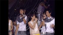 快乐男声SHE携全国四强演唱,热力开唱《Super star》