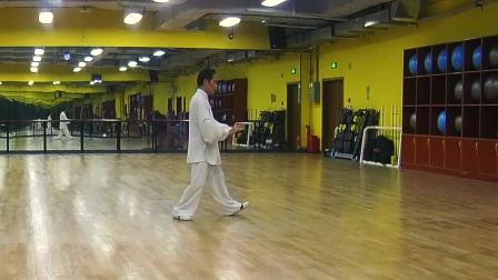 二十四式简化太极拳学习中(方成口令