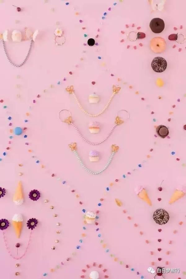 可爱甜筒背景图