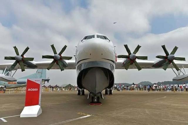 中国建成的世界最大水陆两栖飞机首飞