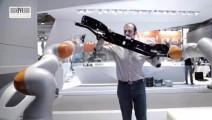 德国科技太逆天了,这机器人简直和人类无异!