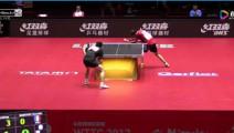 乒乓球比赛9: 0后,樊振东上演了史上最拙劣的让球,好好学习大魔王张怡宁
