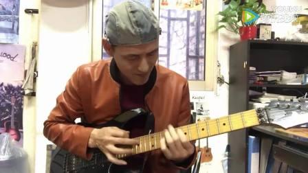 唐朝乐队 梦回唐朝 电吉他演奏
