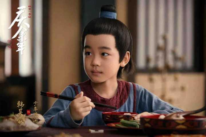 庆余年中的小范闲,5岁就出道了,演过小张无忌,2020年也有新剧