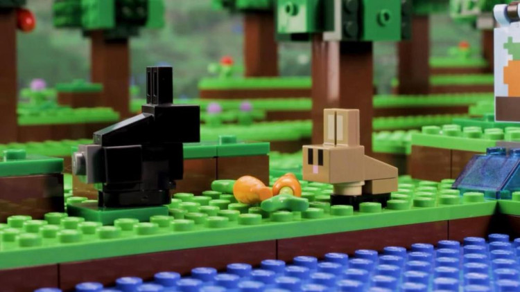 乐高定格动画: 我的世界minecraft农场小屋