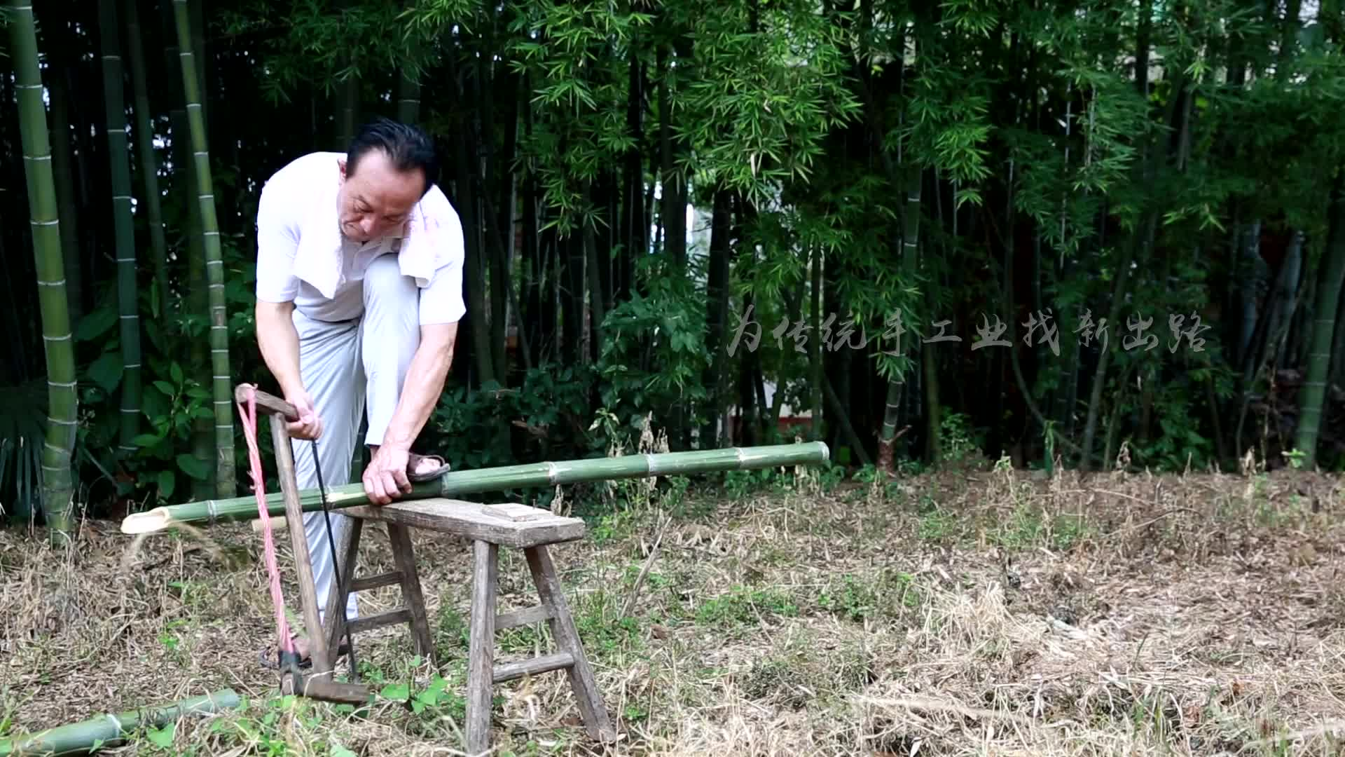 匠人·匠心: 老篾匠李海仁的梦想 用竹床垫取代席梦思