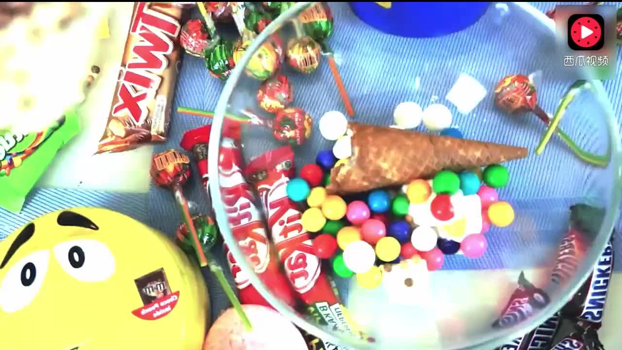 熊孩子做的黑暗料理能吃? 萌娃做的超级冰淇淋! 会是什么味道?
