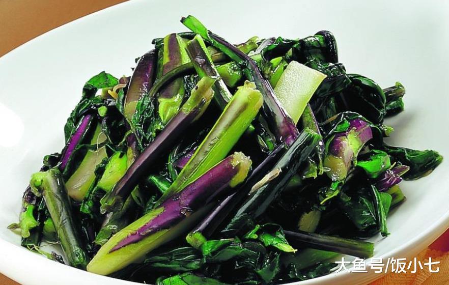 雪地里也能生长的蔬菜, 和腊肉炒一炒, 好吃下饭, 营养丰富