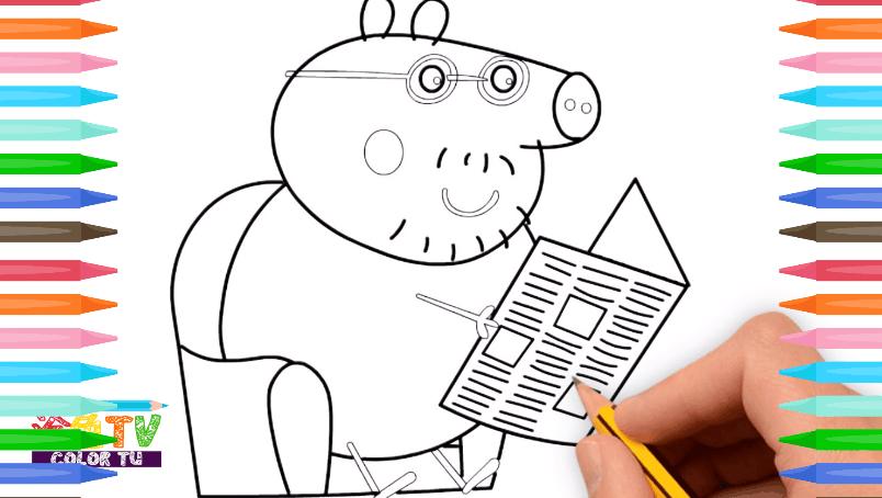 亲子互动益智绘画涂色 打开 20秒画一只萌萌的小动物丨好学好看好画的