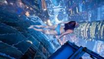 腿软!空中游泳池100米高悬空游泳,没千万美金没的游