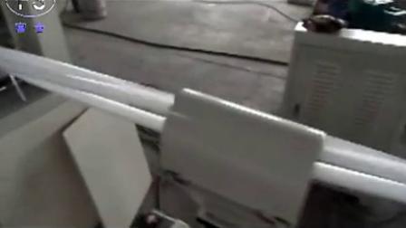 pe foam pipe machine(three tube)三管挤出发泡管机,聚乙烯发泡管设备,塑料泡沫管生产设备