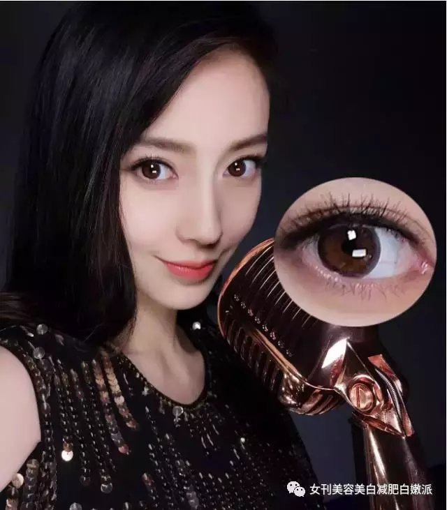 ▼ 可以尝试用自然花纹的美瞳 来增加眼睛的水润感和美感 ▼ 鼻子是