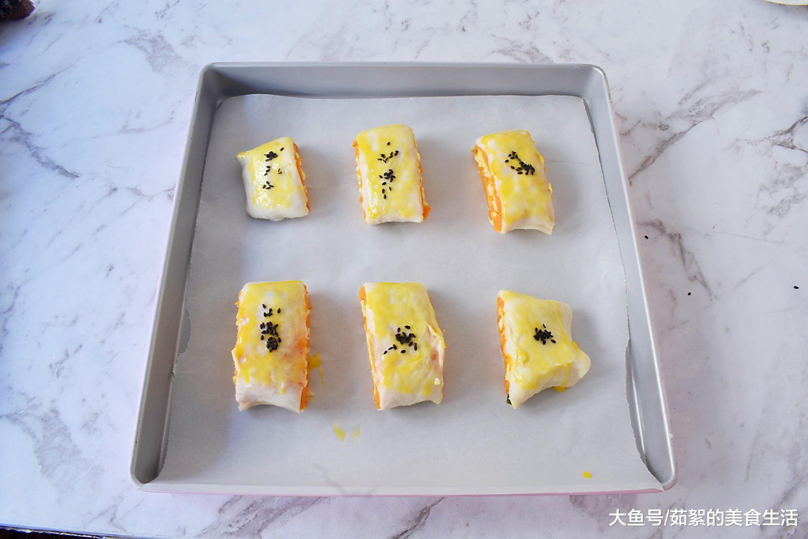 冬天, 这早餐常做给孩子吃, 外酥内糯, 比蛋糕还好吃, 转眼吃光盘