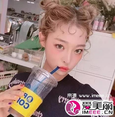 圈圈刘海,泰迪卷刘海 2017流行刘海的打理方法
