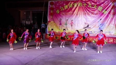 广场舞 共圆中国梦