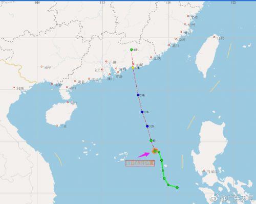 2017年广东天气预报查询 2号台风登陆时间及影响范围区域