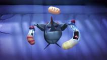 爆笑虫子: 虫虫们为抢香肠飙绝技,最后都被鱼吃了