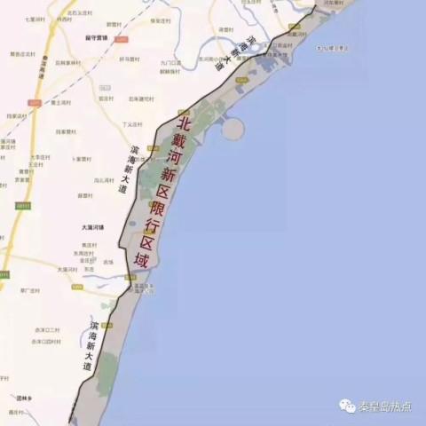 秦皇岛限行头一天, 市区各处已经堵到不能自理