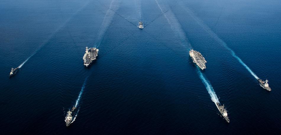 中国双航母编队露雏形: 可载60架战机 1天摧毁5支舰队