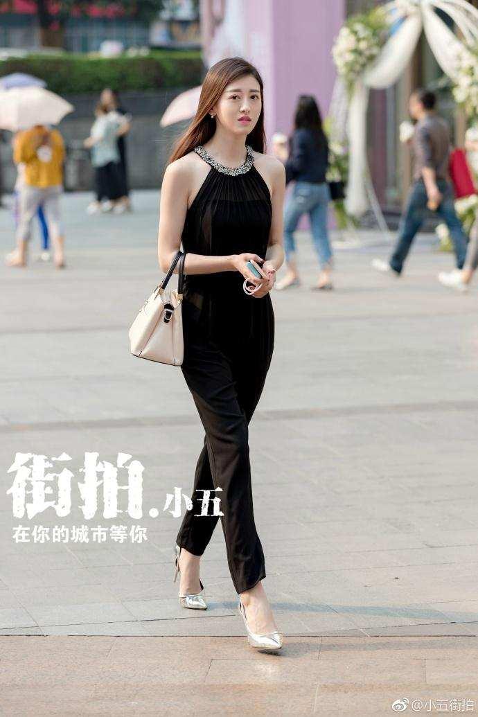 潮人街拍: 重庆美女, 清新优雅, 气质不凡, 仙气十足 3