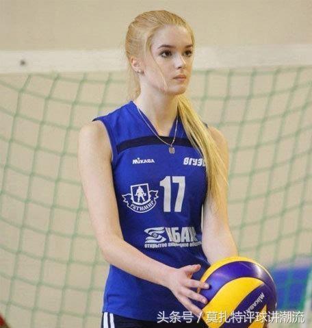 二,哈萨克斯坦,女排运动员-艾媞博柯娃·莎宾娜 1996年11月5日出生于