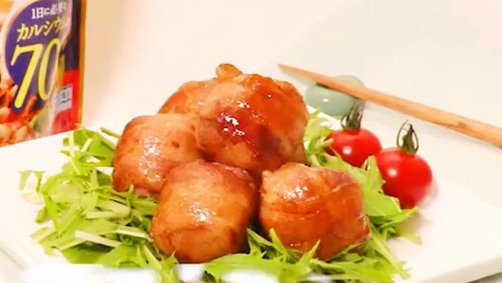 营养满分!日式糙米麦片土豆肉卷的做法