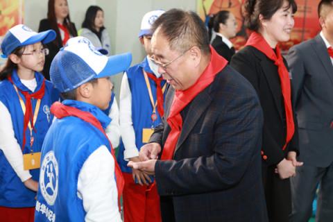 吉林市教育局副局长张枢成,共青团吉林市委书记赵洲洋,副书记刘永军
