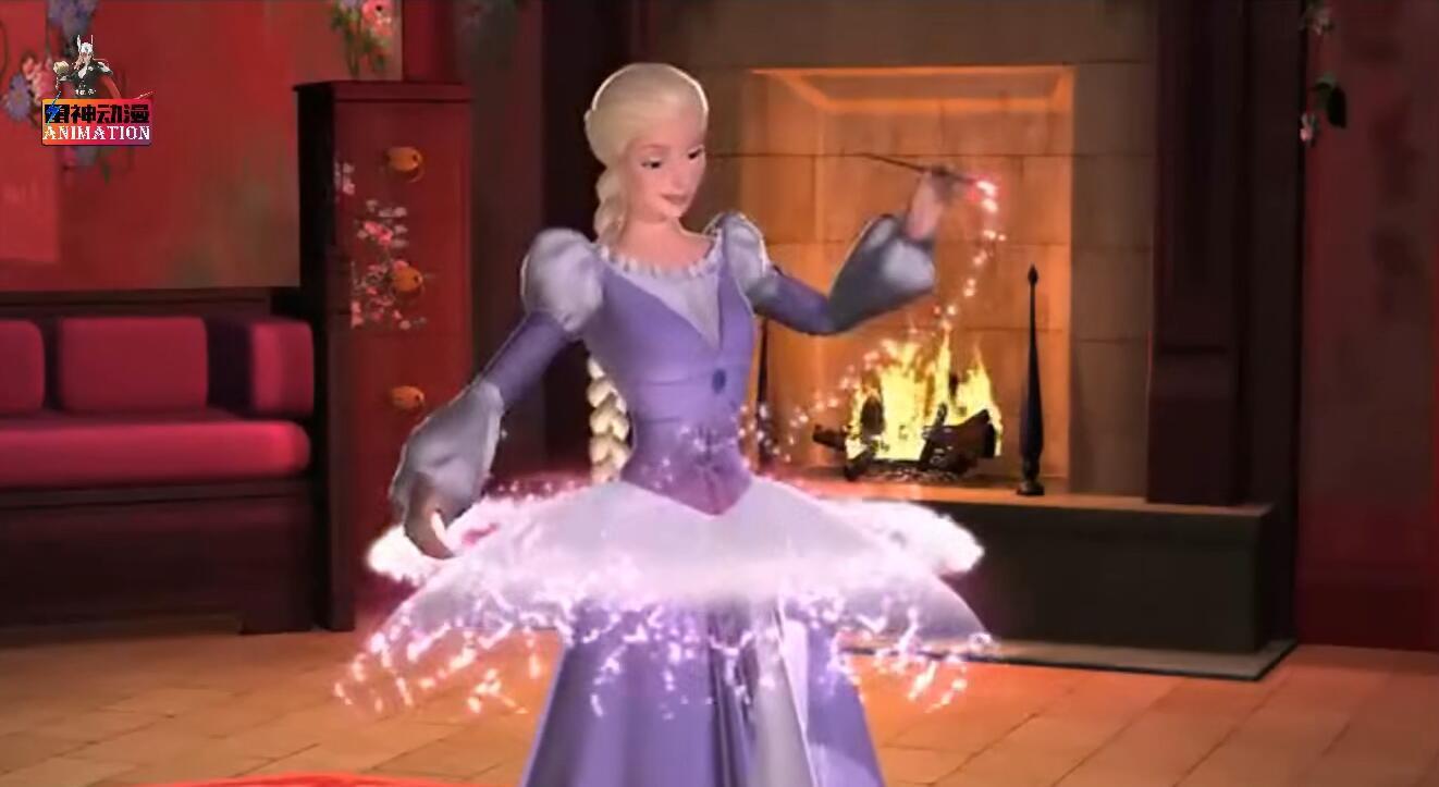 打开 打开 芭比小公主好神奇,竟然能画出各式各样的裙子,这个神技太
