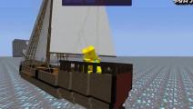 少云我的世界三千人钻石大陆2: 钻石航行的船
