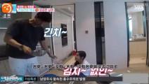 秋瓷炫教丈夫于晓光唱韩文歌,画风怎么突然变了