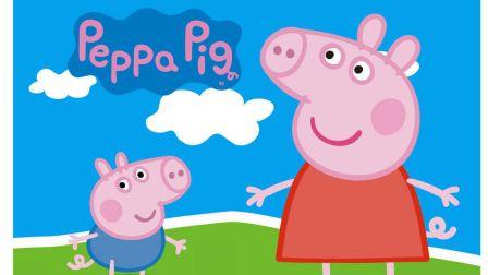 【炫彩简笔画】粉红小猪佩奇的小推车 宝宝爱涂色儿童