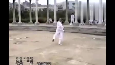 武当大师展示中国传统功夫