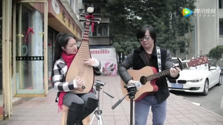 """吉他与琵琶弹奏 天路""""炫音工厂"""""""