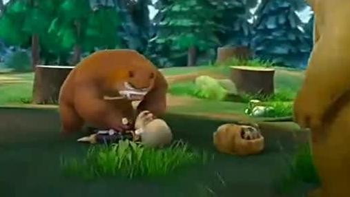 熊二吃多了萝卜,放的屁超级臭 打开 《熊出没》原来小光头强这么可爱