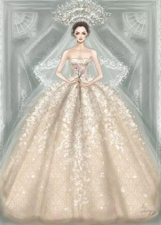 时尚手绘服装设计图