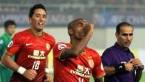 亚冠广州恒大4比0横扫蒙通联 穆里奇传射 郜林亚冠最高光表演