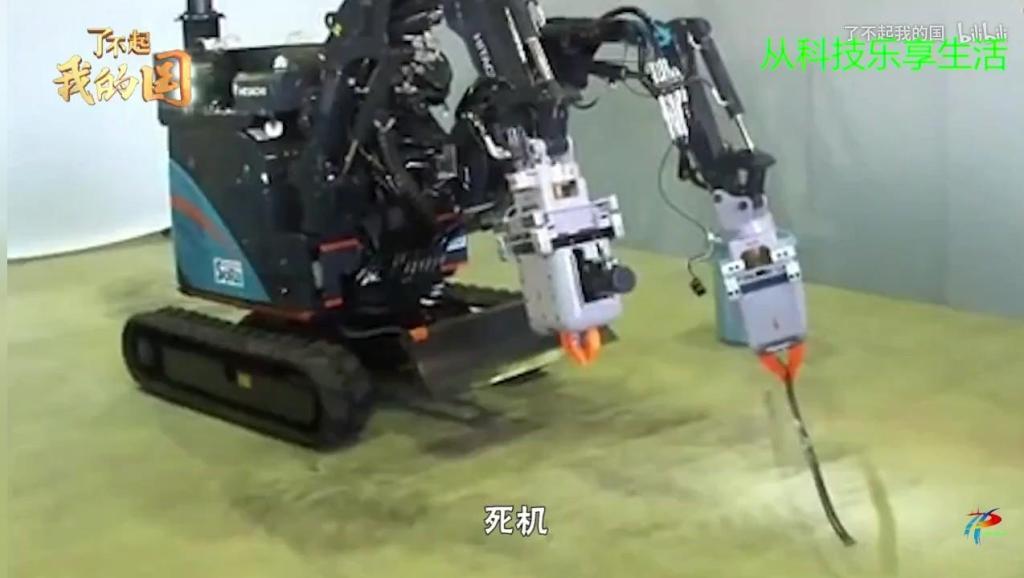 中国研发出更牛的抗辐射机器人,不过希望永无用武之地!