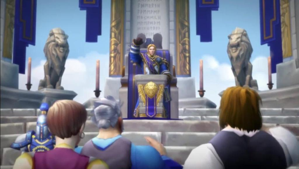 魔兽世界: 联盟7.35过场动画