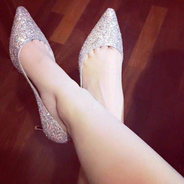 多款高跟鞋的美丽搭配, 自信女孩秀出青春味道 5