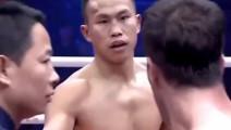 经典回顾!中国军人拳王头被打出大肿包,发怒暴揍老外,狂野!