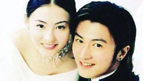 时隔12年, 张柏芝再次穿上婚纱, 看到站在身边的人, 网友不淡定