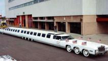 世界上最长的轿车,有高尔夫球场、游泳池,还能停直升机