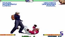 拳皇2002 没事可千万别招惹山崎龙二的超必杀 否则让你的屁股吃不消